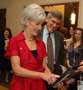 Kathleen Sebelius, Secretary of Health and Human Services